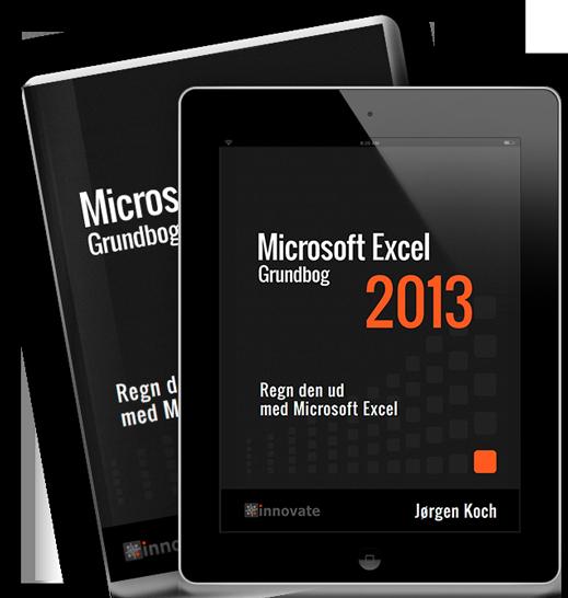 Kursusbog til Excel 2013