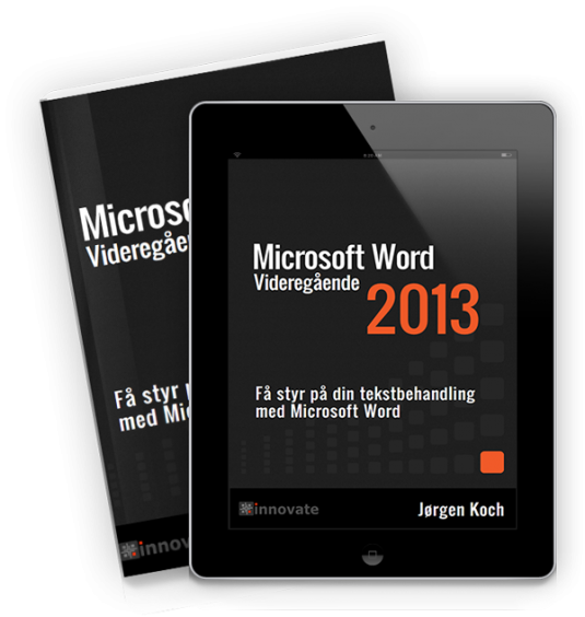 Word 2013 Videregående (e-bog)