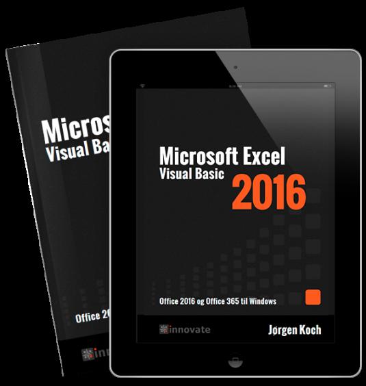 Excel 2016 VBA - (e-bog=