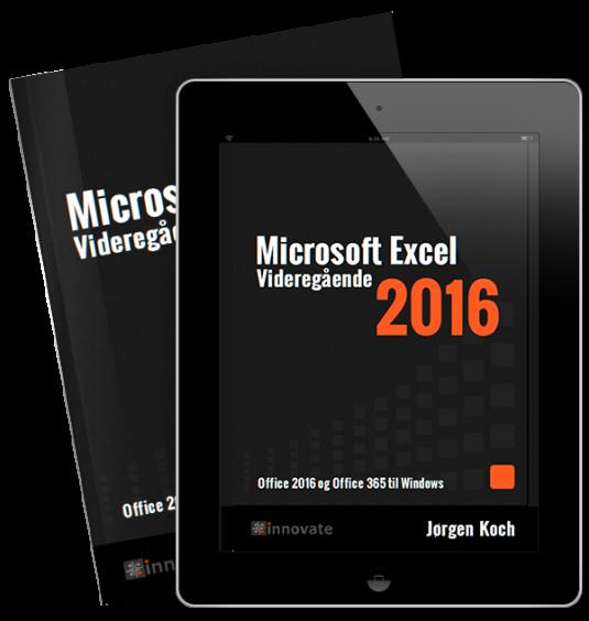 Excel 2016 Videregående (e-bog)