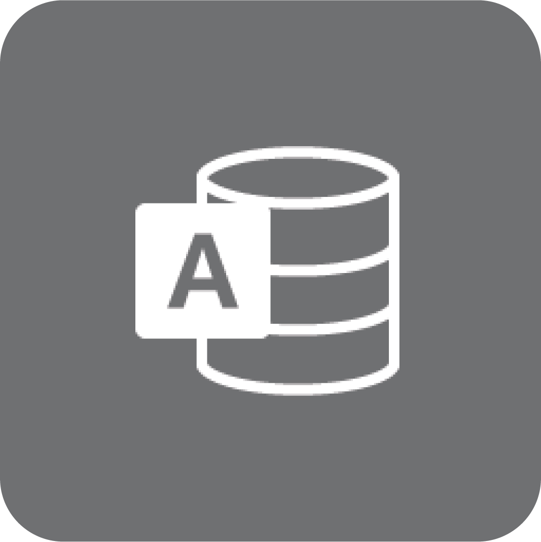 Access-logo (gråt)