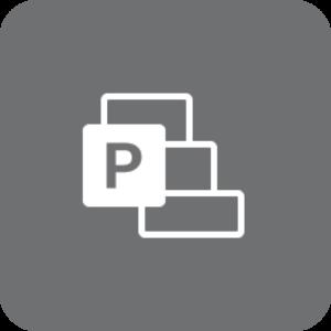 Project-logo (gråt)